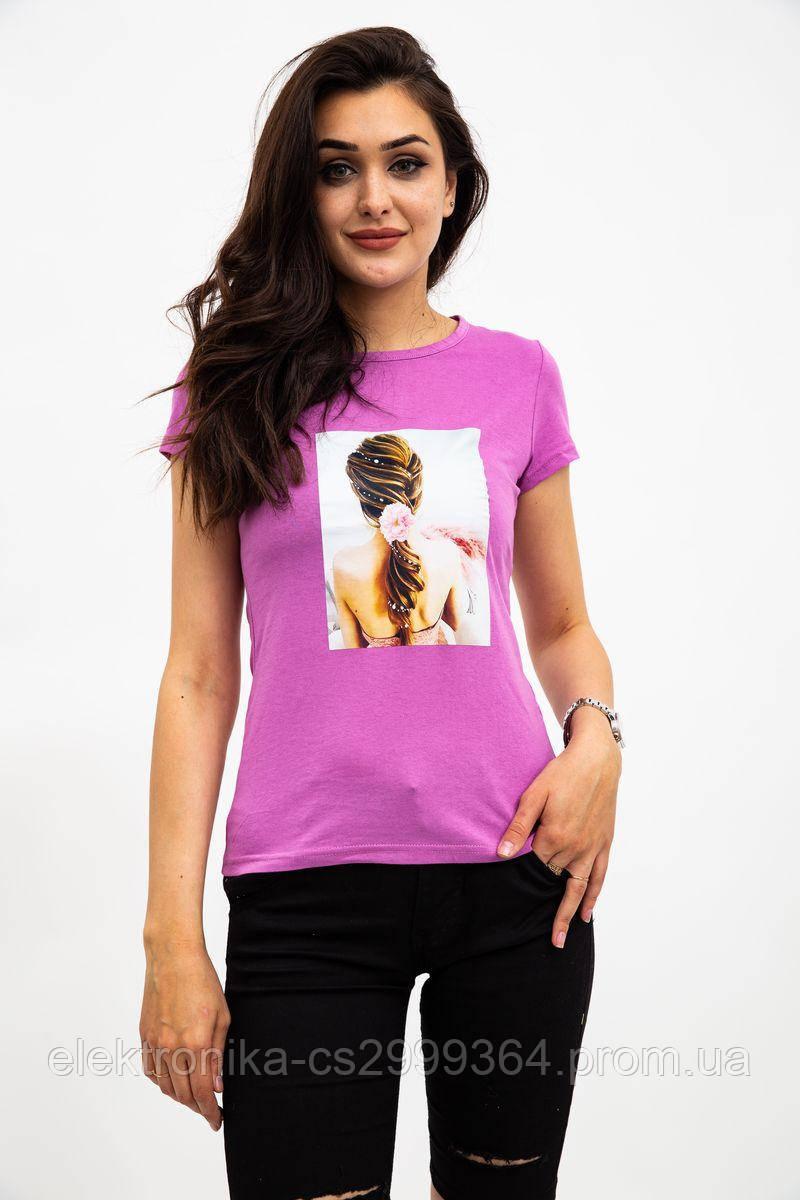 Футболка женская 119R0113-4 цвет Фиолетовый