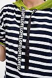 Футболка женская 133R7439 цвет Сине-салатовый, фото 2