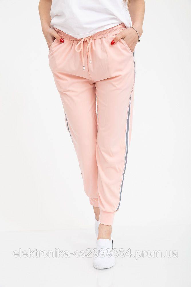 Брюки спорт женские 133R20011 цвет Розовый