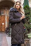 Пальто женское 131R8909 цвет Черный, фото 3