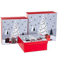 Набор коробок из 3 шт. 28*28*11 (8211-046)