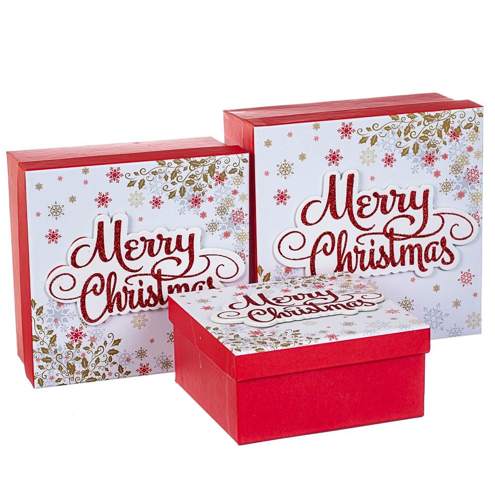 Набір коробок з 3 шт. 28*28*11 (8211-008)