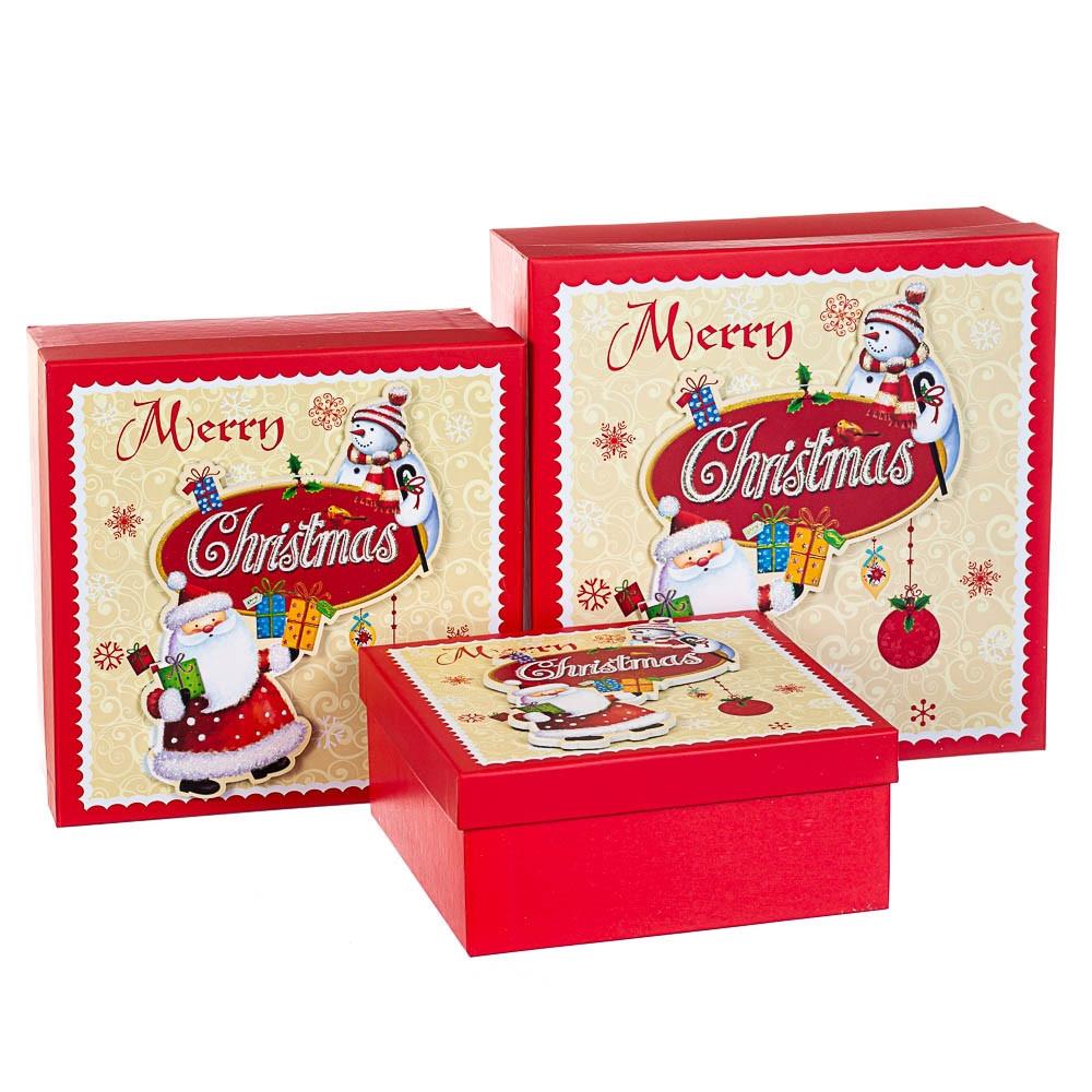 Набір коробок з 3 шт. 28*28*11 (8211-024)