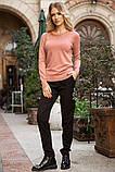 Свитер женский 131R5516 цвет Пудровый, фото 2