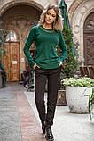 Свитер женский 131R5516 цвет Зеленый, фото 2