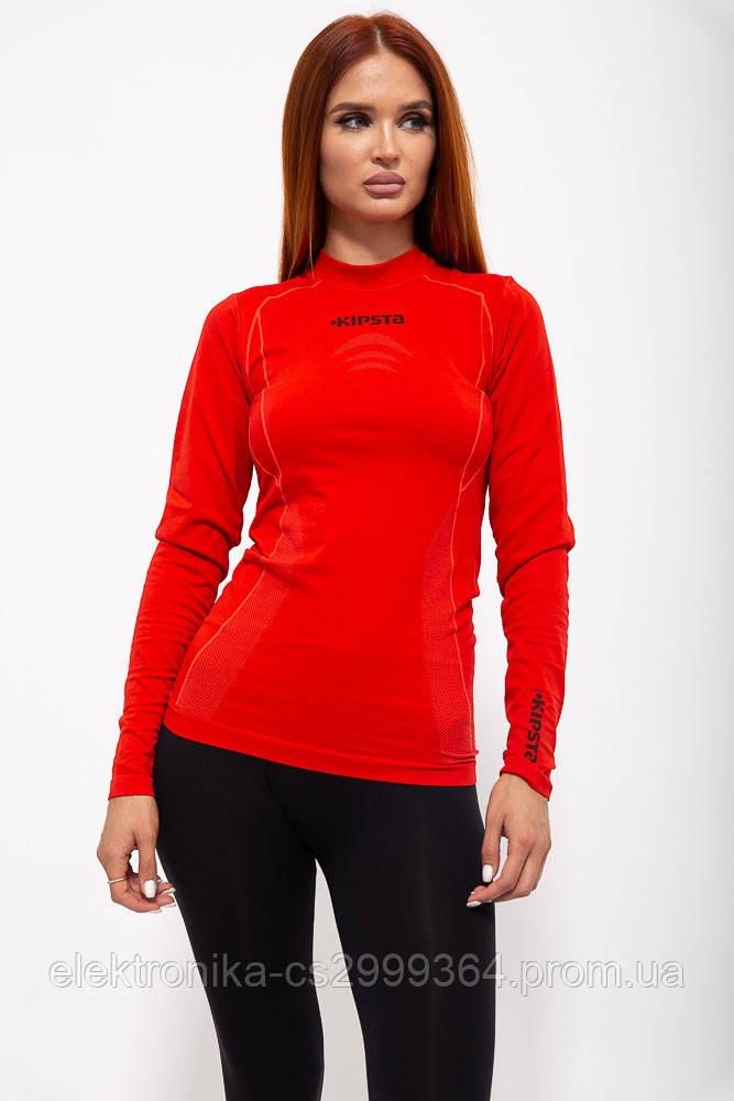 Рашгард женский 117R076 цвет Красный