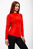 Рашгард женский 117R076 цвет Красный, фото 3