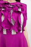 Платье женское 131R2784 цвет Фуксия, фото 4