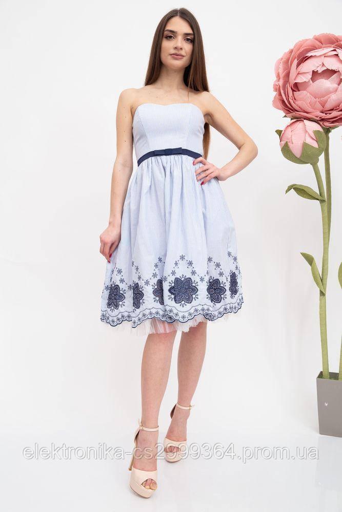 Платье женское 131R2770S цвет Бело-голубой