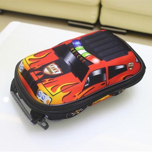 Детский рюкзак для мальчика от 3 лет для садика жесткий 3D Тачки автомобиль
