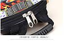 Детский рюкзак для мальчика от 3 лет для садика жесткий 3D Тачки автомобиль, фото 3