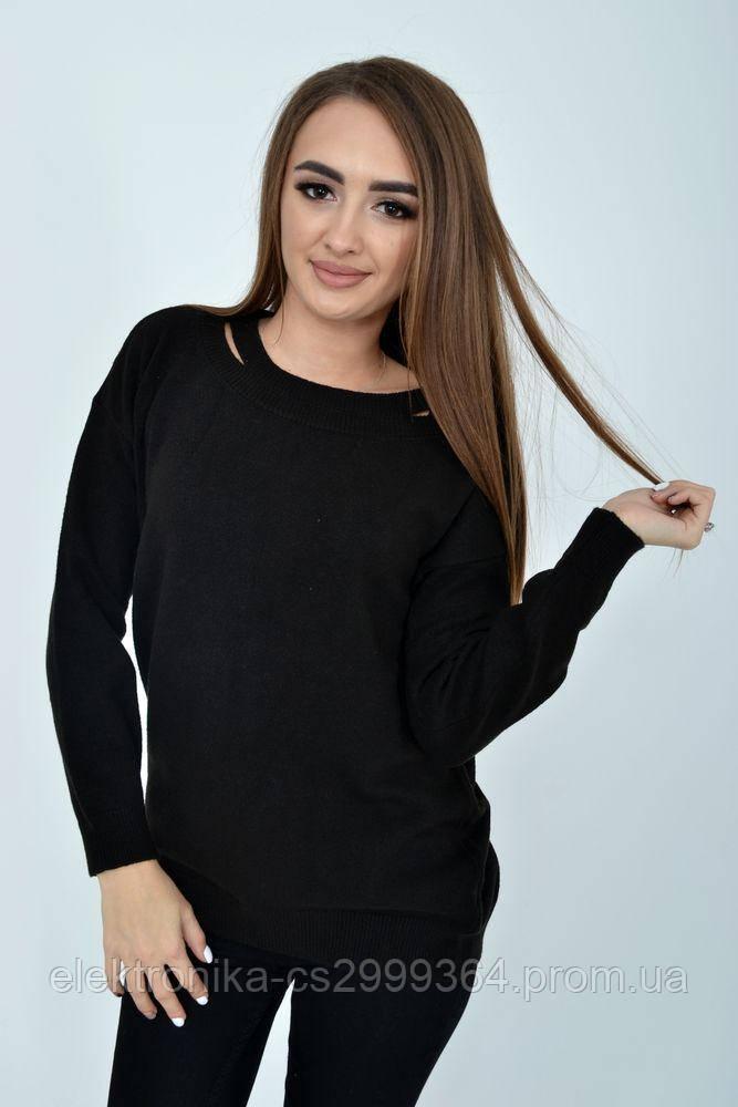 Свитер женский 117R018-01 цвет Черный