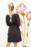 Платье женское 131R1990-1 цвет Черный, фото 3