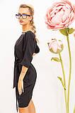 Платье женское 131R1990-1 цвет Черный, фото 4