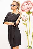 Платье женское 131R1990-1 цвет Черный, фото 5