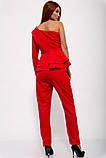 Костюм женский 131R19060 цвет Красный, фото 3