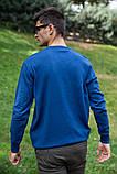 Свитер мужской 117R008(1100) цвет Индиго, фото 4