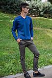 Свитер мужской 117R008(1100) цвет Индиго, фото 2