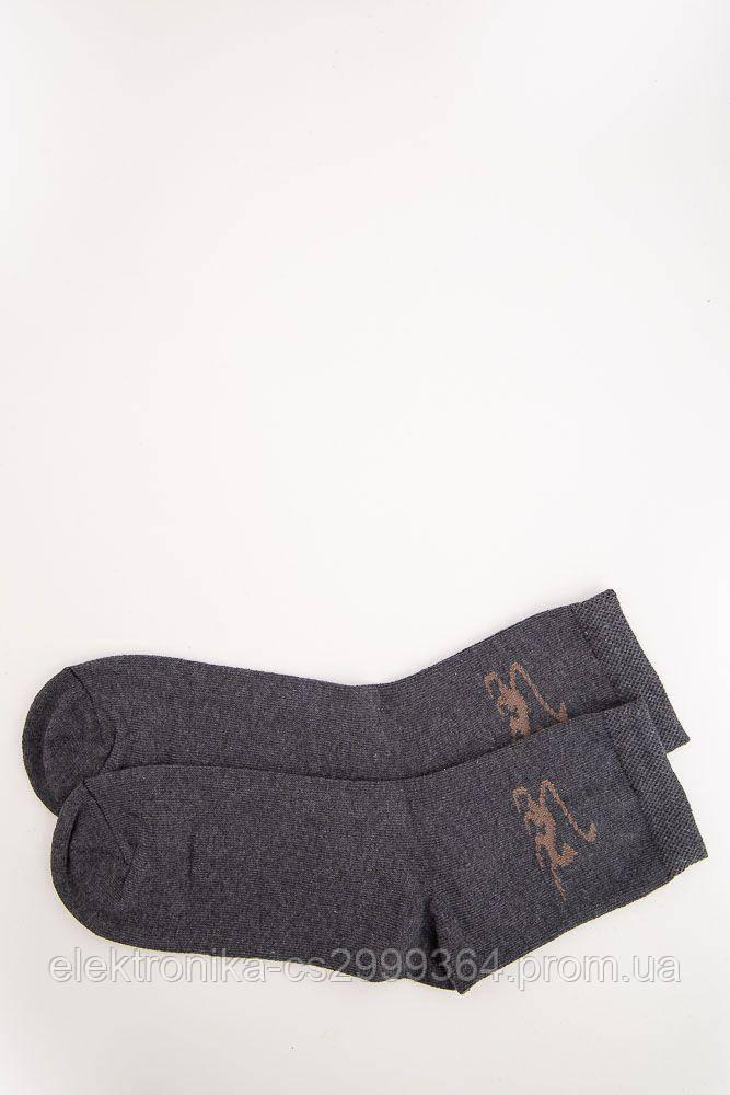 Носки женские 131R122017 цвет Темно-серый