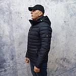Чоловіча куртка vinyl Black C19-1315C, фото 2