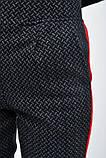 Брюки женские 117R033 цвет Серо-красный, фото 4