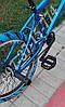 ✅Велосипед bmx Для Подростка Crosser Rainbow 20 Дюймов Синий с Голубыми покрышками, фото 3