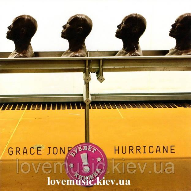 Музичний сд диск GRACE JONES Hurricane (2008) (audio cd)
