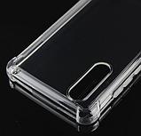 Комплект пленка + прозрачный силиконовый чехол PZOZ для Sharp Aquos S2 / Aquos C10 / Sharp C10, фото 4