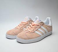 Женские кроссовки в стиле Adidas Gazelle Pink розовые