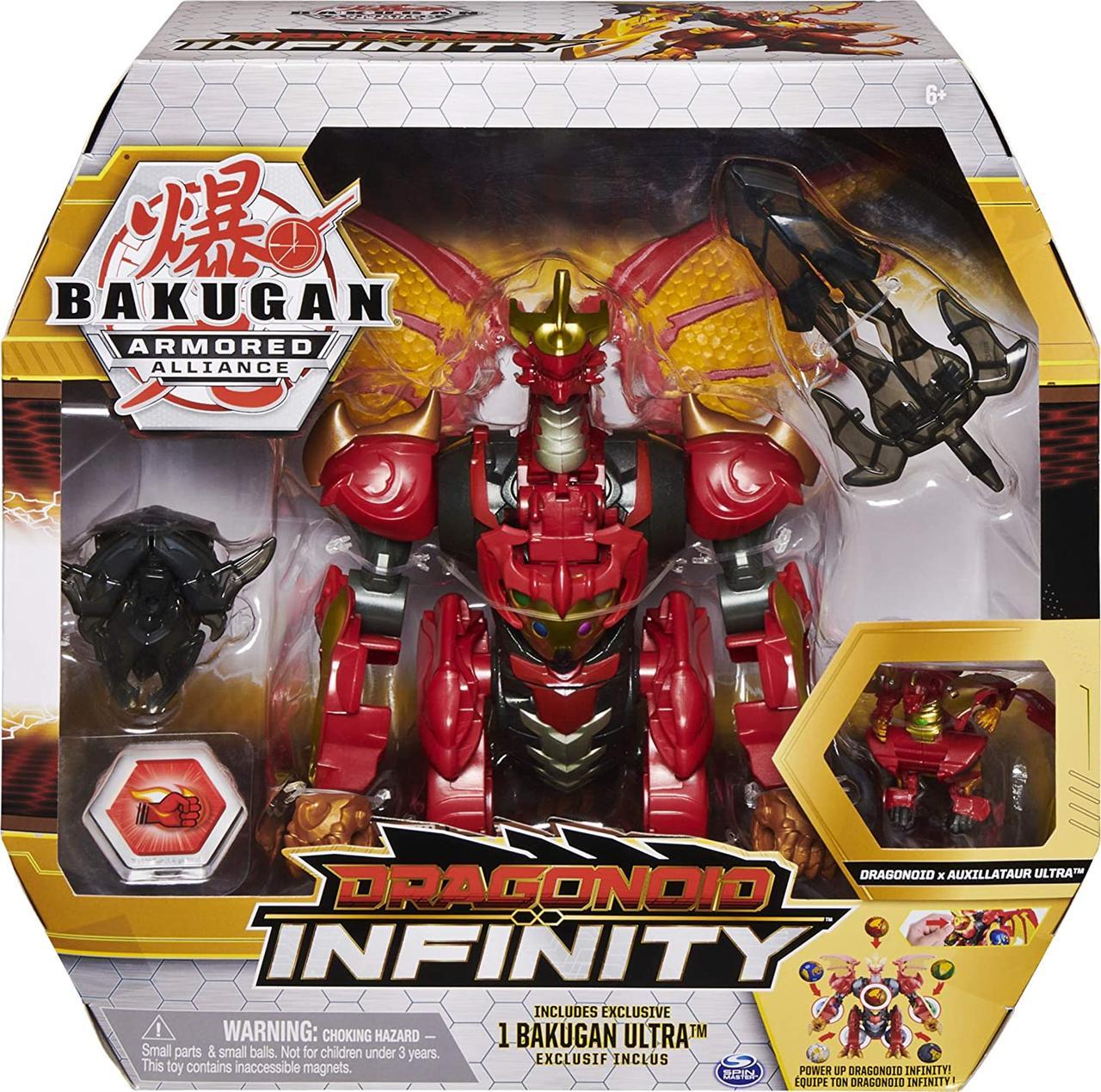 Бакуган Драгоноид Инфинити Бронированный Bakugan Armored Alliance Dragonoid Infinity из США