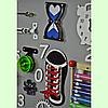 Развивающая доска размер 50*60 Бизиборд для детей, фото 3