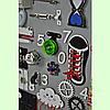 Развивающая доска размер 50*60 Бизиборд для детей, фото 4