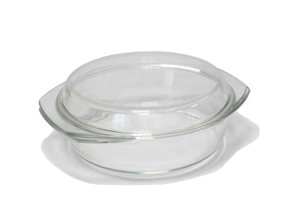 Кастрюля стеклянная Zauberg 2 литра (4129) жаростойкая