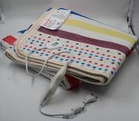 Электропростынь с сумкой electric blanket 150*120 в цветную полоску
