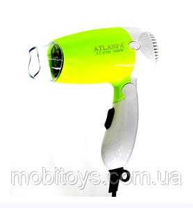 """Фен для волос """"ATLANFA"""" 1000W AT-6700 сложный"""