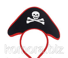 Карнавальний Обідок Піратський Капелюх Прикол Для Вечірки Маскарад