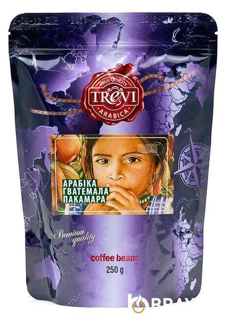 Кофе в зёрнах Trevi Арабика Гватемала Пакамара 250 г