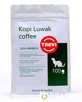 Кофе в зёрнах Trevi Арабика Kopi Luwak 100 г