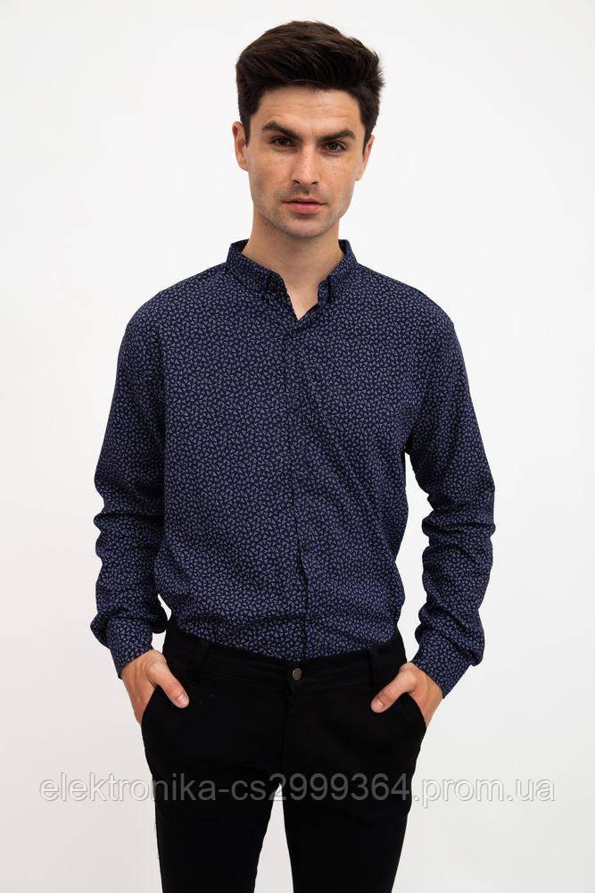 Рубашка 511F016 цвет Темно-синий