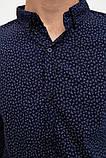 Рубашка 511F016 цвет Темно-синий, фото 5
