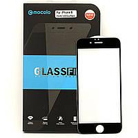 Захисне 5D Full Glue скло MOCOLO для Iphone 6 / Iphone 6s чорне