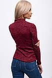 Гольф женский 153R4014 цвет Бордовый, фото 4