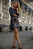 Платье 153R2070 цвет Темно-синий, фото 2