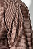 Рубашка 37162-19 цвет Шоколадный, фото 5