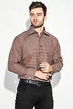 Рубашка 37162-19 цвет Шоколадный, фото 2