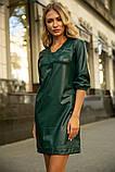 Платье 153R1108 цвет Темно-зеленый, фото 4