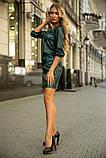 Платье 153R1108 цвет Темно-зеленый, фото 2