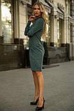 Платье 153R1082 цвет Темно-зеленый, фото 4