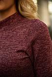 Платье 153R1082 цвет Бордовый, фото 4