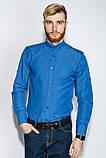 Рубашка №333F007 цвет Лазурный, фото 2